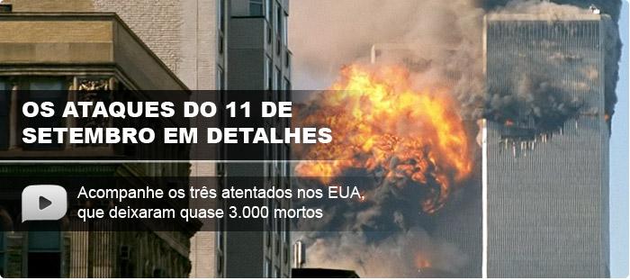 Acesse a infografia animada sobre o 11 de setembro
